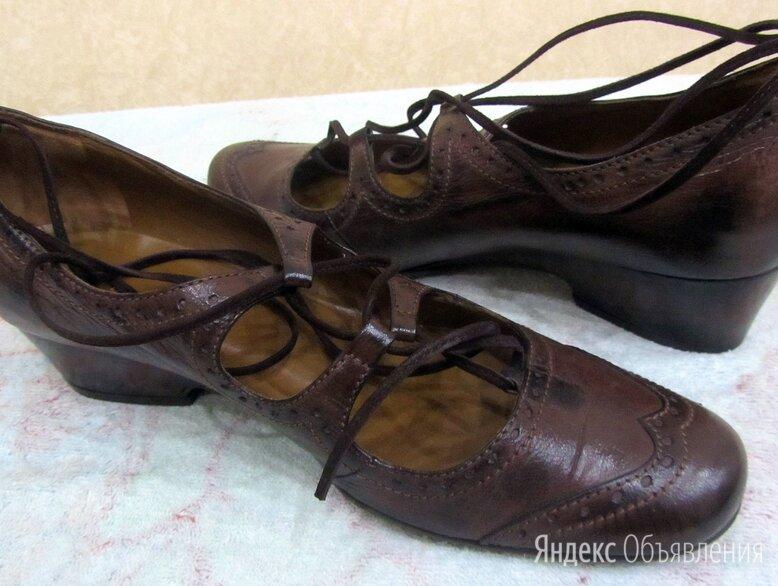 Туфли женские коричневые по цене 4900₽ - Туфли, фото 0