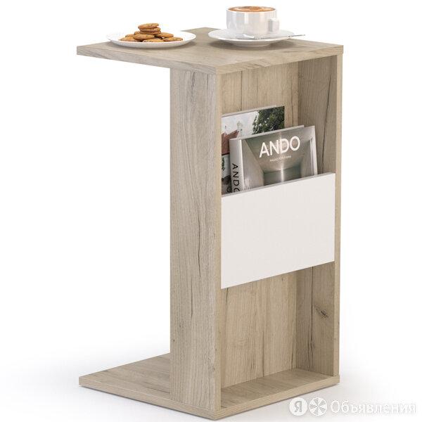 Подставка в гостиную для мягкой мебели Лайт 03.291 цвет дуб серый крафт/бе... по цене 1363₽ - Дизайн, изготовление и реставрация товаров, фото 0