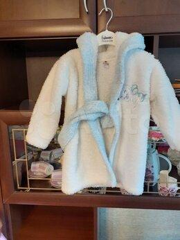 Домашняя одежда - Детский махровый халат для девочки 3-4 года, 0