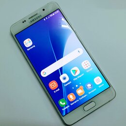 Мобильные телефоны - Смартфон Samsung Galaxy A5 2016 2ГБ 16ГБ SM-A510F White белый, 0