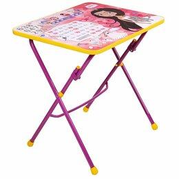Столы и столики - Стол детский Ника СУ1 (60х45 см), 0