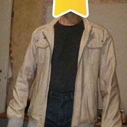 Куртки - Куртка д/с р-р 50-52 рост 178-183 светло-бежевая, 0