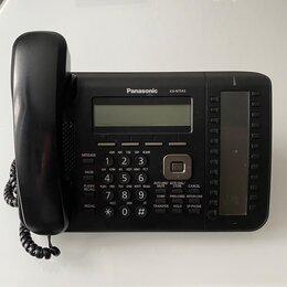 Системные телефоны - IP телефон Panasonic KX-NT543RUB черный., 0