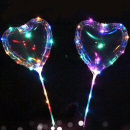 Воздушные шары - Шары бобо сердце , 0