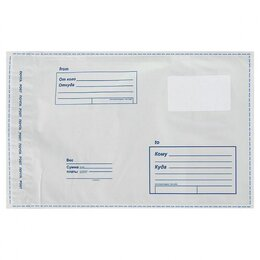 Конверты и почтовые карточки - Почтовый пакет  Почта России  355*320 мм, 0
