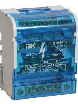 Электрические щиты и комплектующие - Шины на DIN-рейку в корпусе (кросс-модуль) ШНК…, 0