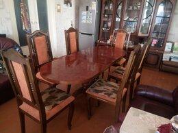 Столы и столики - Стол и 6 стульев, 0