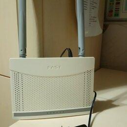Оборудование Wi-Fi и Bluetooth - Вайфай роутер fast, 0