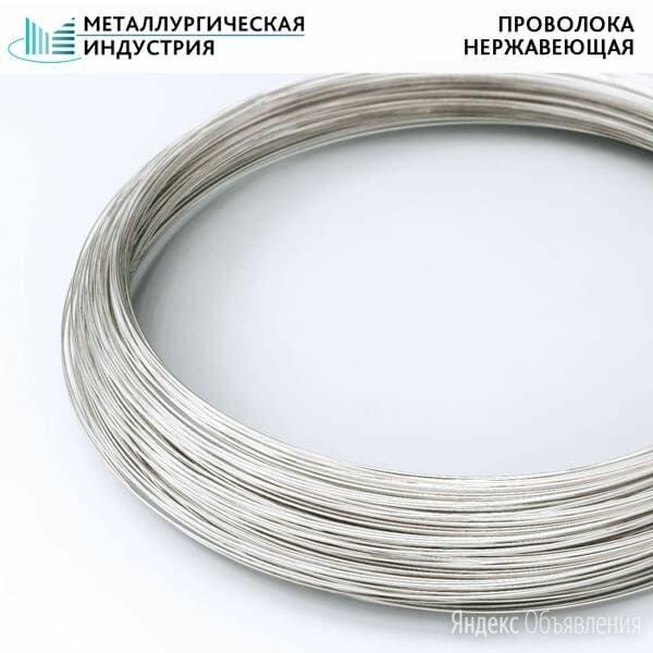 Проволока нержавеющая 1,2 мм 08Х20Н9Г7Т 10223 по цене 400₽ - Металлопрокат, фото 0