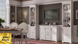 Шкафы, стенки, гарнитуры - Гостиная Афродита, 0