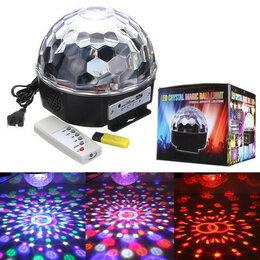 Световое и сценическое оборудование - Светомузыка диско шар, 0