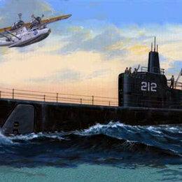 Сборные модели - Сборная модель. Подводная лодка Гато SS-212  1|144, 0