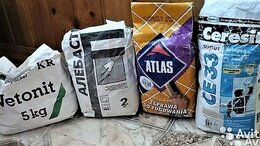 Строительные смеси и сыпучие материалы - Затирка, алебастр, ветонит, 0