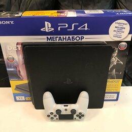 Игровые приставки - Игровая приставка Sony PlayStation 4 Slim PS4 1tb, 0