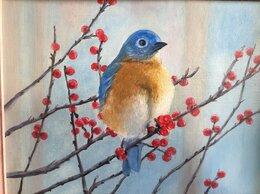 """Картины, постеры, гобелены, панно - Картина """"Синяя птица"""", 0"""