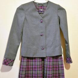 Комплекты и форма - Пиджак, школьная форма для девочки, 30 размер, 0