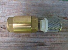 """Фильтры для воды и комплектующие - Новый обратный клапан 1"""" + сетчатый фильтр, 0"""