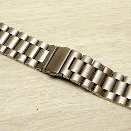 Ремешки для часов - Стальной браслет шириной 22мм, 0