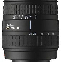 Объективы - Объектив Sigma Zoom 28-105mm 3.8-5.6 UC-III, 0