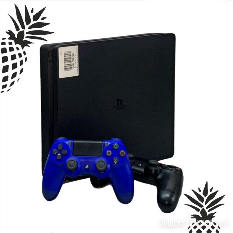 Игровая приставка Sony PlayStation 4 Slim 1 ТБ  по цене 24000₽ - Игровые приставки, фото 0
