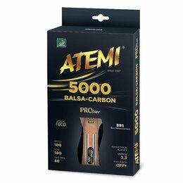 Ракетки - Ракетка ATEMI 5000 Balsa-Carbon, 0