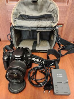 Фотоаппараты - Зеркальный фотоаппарат Canon 350D, 0