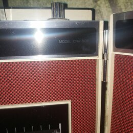 Музыкальные центры,  магнитофоны, магнитолы - Cassette Stereo / FM Stereo CRH-508, 0