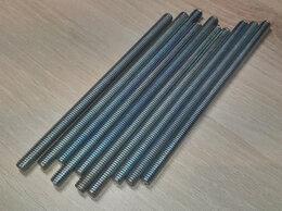 Шпильки - Шпилька М6х110 оцинкованная, 100шт, 1000шт, 0