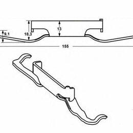 Защелки и завертки - m15197 Защелка пружинная 7D0615295A VW, 0