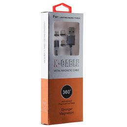 Зарядные устройства и адаптеры - Магнитный USB кабель, 0