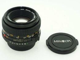 Объективы - Объектив Minolta MD 1:1,7 50mm, 0