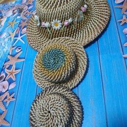Головные уборы - Плетёные летние шляпки для фотосессий, 0