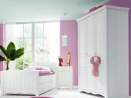 Шкафы, стенки, гарнитуры - Шкаф и кровать сосна , 0