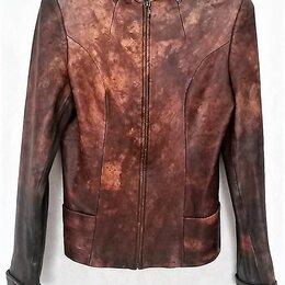 Куртки - Куртка кожаная, р.40-42, 0