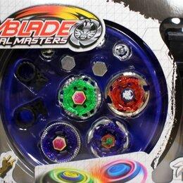 Игрушки-антистресс - Бейблейд набор волчков Beyblade 4в1, 0