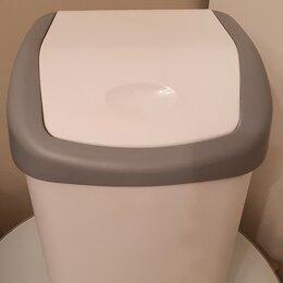 Мусорные ведра и баки - Ведро для мусора с крышкой-вертушкой М-пластика Хапс 7 л, 0