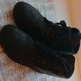 Ботинки - ботинки кожаные черные, 0