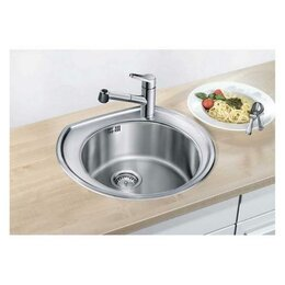 Кухонные мойки - Кухонная мойка Blanco RondoVal cns 3 bf, 0