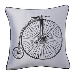 Подушки - Подушка с ретро-велосипедом Retro Bicycle Grey, 0