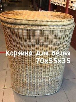 Плетеная мебель - Корзина для белья, 0