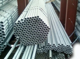 Металлопрокат - Трубы водогазопроводные ВГП оцинкованные 40х3,5, 0