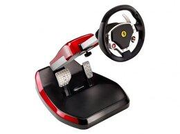 Рули, джойстики, геймпады - Новый Руль ThrustMaster Ferrari Wireless GT…, 0