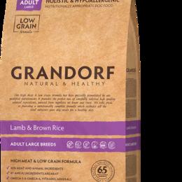 Корма  - Корм для взрослых собак крупных пород Grandorf Ягненок с рисом 12 кг., 0