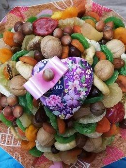 Подарочные наборы - Букет из сухофруктов с чаем, 0