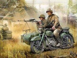 Конструкторы - Сборная модель. Мотоцикл М-72. 1/35., 0