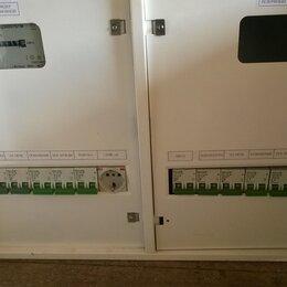 Электрические щиты и комплектующие - Электрощиток на 2 щетчика, 0