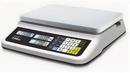 Весы - Торговые весы CAS PR-6B LCD с USB, 0
