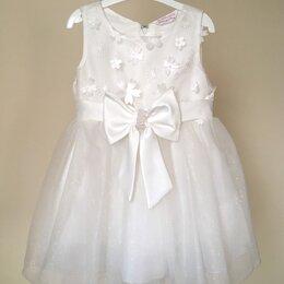 Платья и сарафаны - Нарядное платье для девочки, размер 86, 0
