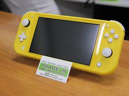 Игровые приставки - Nintendo Switch Lite Желтый Б.У с гарантией, 0
