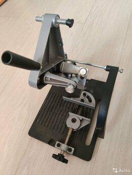 Дисковые пилы - Стойка УШМ  Wolfcraft 115/125мм, 0